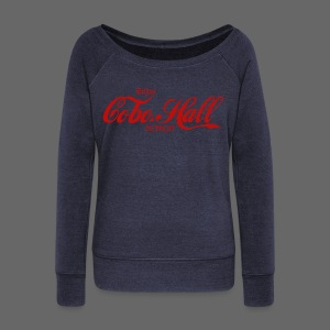 Cobo Hall - Women's Wideneck Sweatshirt