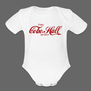 Cobo Hall - Short Sleeve Baby Bodysuit