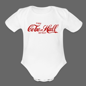 Cobo Hall - Short Sleeve Baby Bodysuit