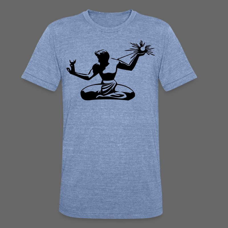 Spirit of Detroit - Unisex Tri-Blend T-Shirt by American Apparel