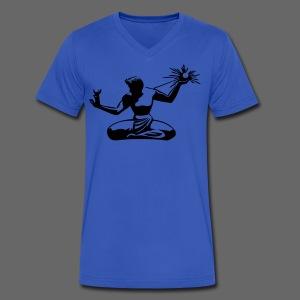 Spirit of Detroit - Men's V-Neck T-Shirt by Canvas