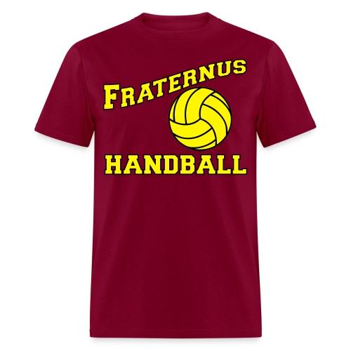 Handball Digital Print Yellow - Men's T-Shirt