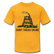 T-Shirts ~ Men's T-Shirt by American Apparel ~ Dont Tread On Me - Mens