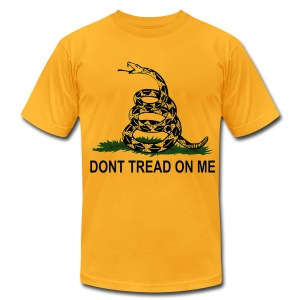 Dont Tread On Me - Mens - Men's T-Shirt by American Apparel