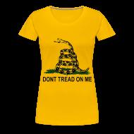 T-Shirts ~ Women's Premium T-Shirt ~ Dont Tread On Me - Women's