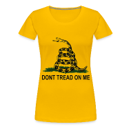 T-Shirts ~ Women's Premium T-Shirt ~ Dont Tread On Me - Women's