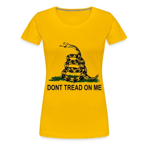 Dont Tread On Me - Women's - Women's Premium T-Shirt