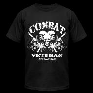 T-Shirts ~ Men's T-Shirt by American Apparel ~ Afghan Combat Vet