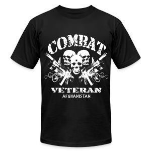 Afghan Combat Vet - Men's T-Shirt by American Apparel