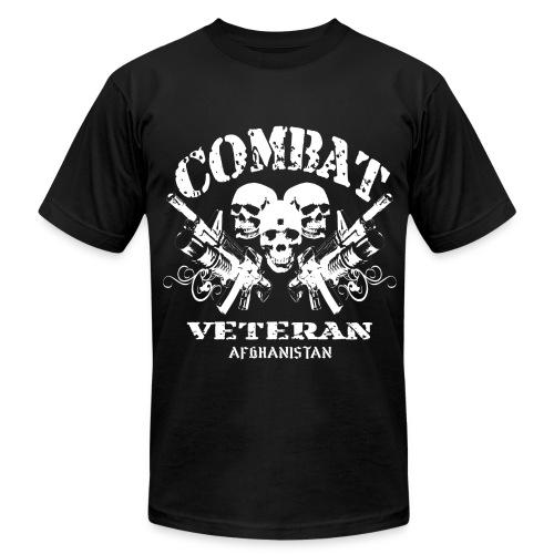 Afghan Combat Vet - Men's  Jersey T-Shirt