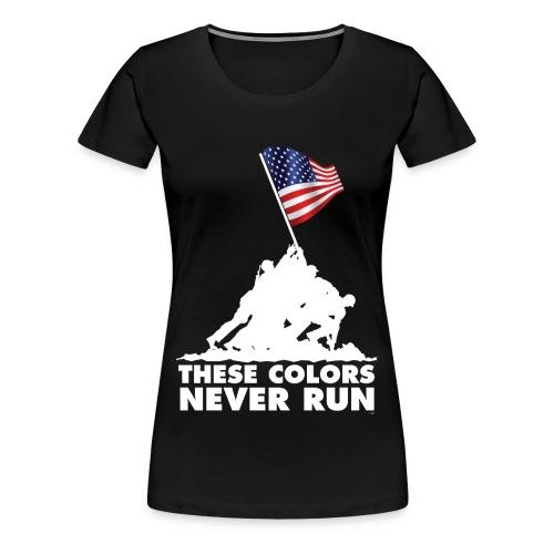 These colors- Women's - Women's Premium T-Shirt
