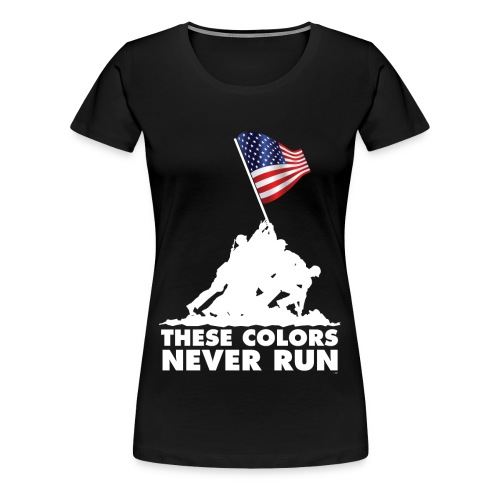 These colors- Women's - Women's Premium T-Shirt