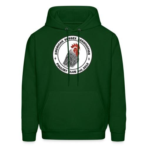 ASA Logo Front Only Men's Hoodie - Men's Hoodie