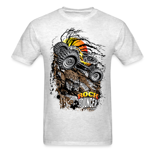 Rock Bouncer Sun Tree - Men's T-Shirt