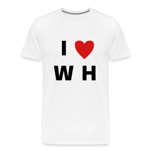 I Love Waffel House - Men's Premium T-Shirt
