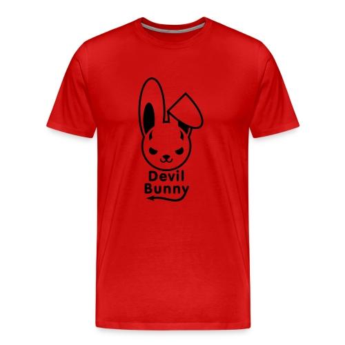 Devil Bunny - Men's Premium T-Shirt