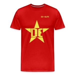 Star T-Shirt (mens red) - Men's Premium T-Shirt