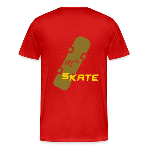 Heavyweight cotton T-Shirt (Skate) - Men's Premium T-Shirt