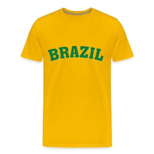 Heavyweight cotton T-Shirt (BRAZIL) - Men's Premium T-Shirt