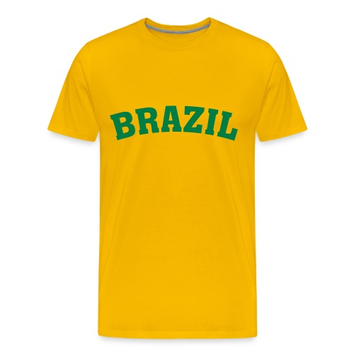 Heavyweight cotton T-Shirt (BRAZIL) - Men's Premium T-Shirt