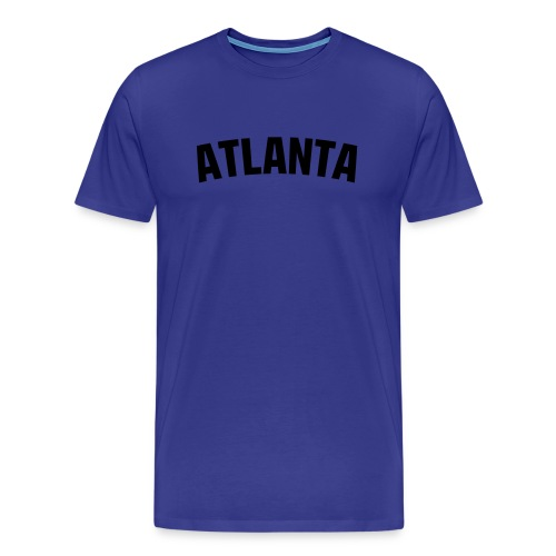 Heavyweight cotton T-Shirt (ATLANTA) - Men's Premium T-Shirt