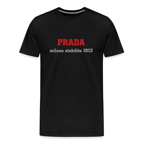 prada red - Men's Premium T-Shirt
