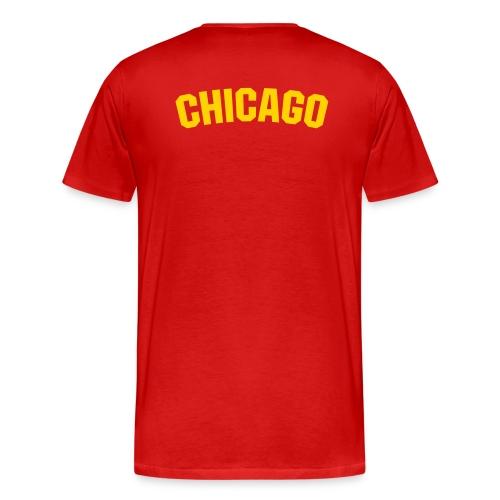 Heavyweight cotton T-Shirt (CHICAGO) - Men's Premium T-Shirt