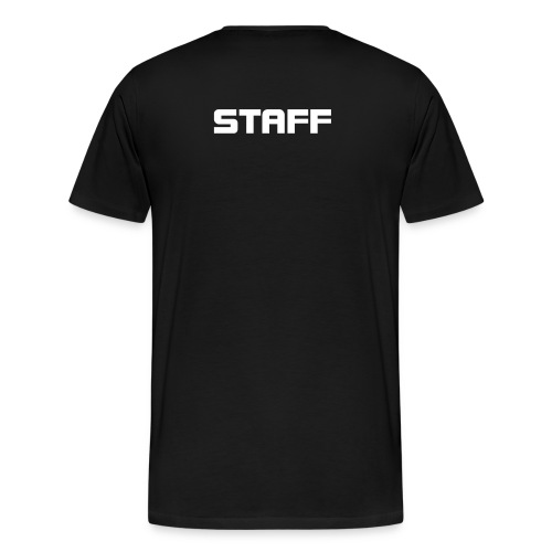 DAVIDJR.COM STAFF (ON BACK) - Men's Premium T-Shirt