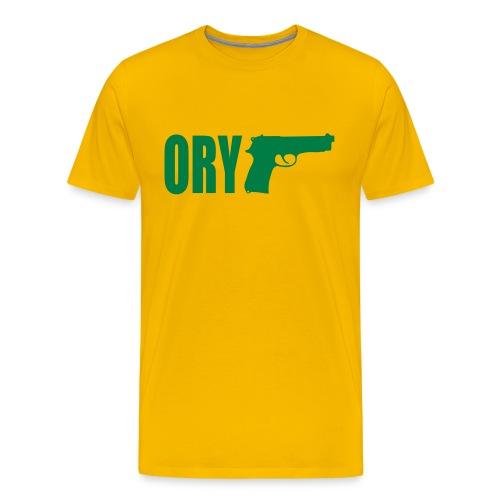 Orygun yellow - Men's Premium T-Shirt