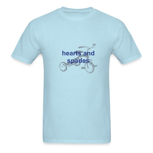 Tricycle Tee Blue - Men's T-Shirt
