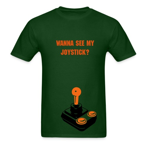 See My Joystick Green - Men's T-Shirt