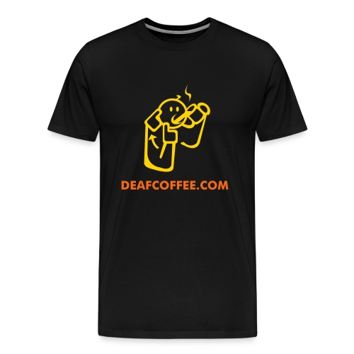 Deaf Coffee - Men's Premium T-Shirt
