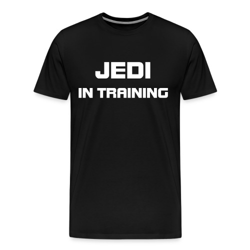 Jedi In Training - Men's Premium T-Shirt