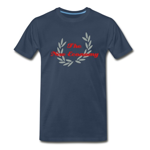 The New Economy Leaf - Men's Premium T-Shirt
