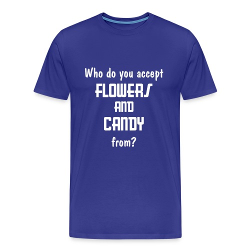 Flowers and Candy - Men's Premium T-Shirt