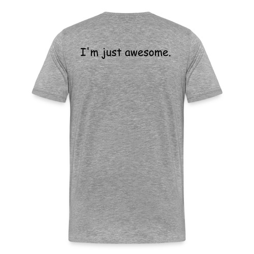just awesome - Men's Premium T-Shirt