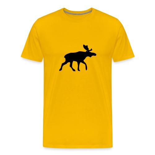 Yellow Moose Tee - Men's Premium T-Shirt