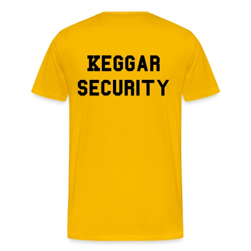 Keggar Security - Men's Premium T-Shirt