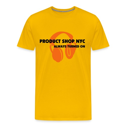 PSNYC HEADPHONES - Men's Premium T-Shirt