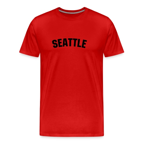 SEATTLE TALL TEE - Men's Premium T-Shirt