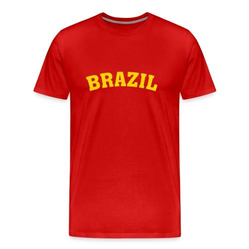 Brazil Rocks Tee - Men's Premium T-Shirt