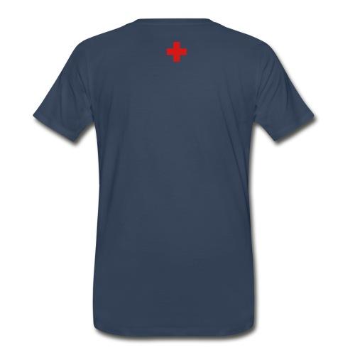 Swiss Cross Tee - Men's Premium T-Shirt