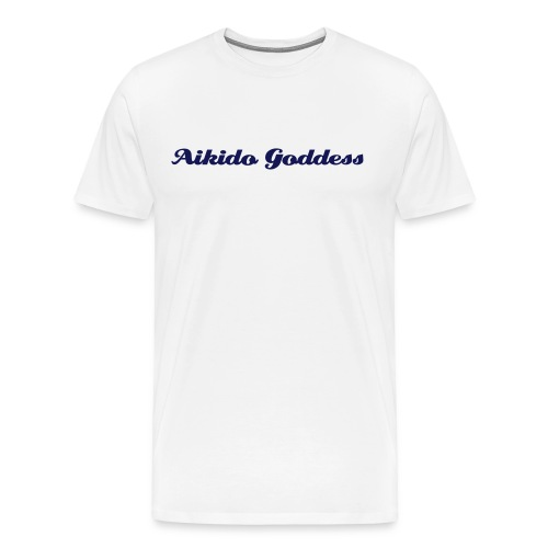 Aikido Goddess -- heavy weight - Men's Premium T-Shirt