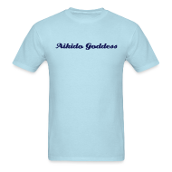 T-Shirts ~ Men's T-Shirt ~ Aikido Goddess -- heavy weight