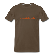 T-Shirts ~ Men's Premium T-Shirt ~ Altered Ego Fonts Heavyweight T-Shirt