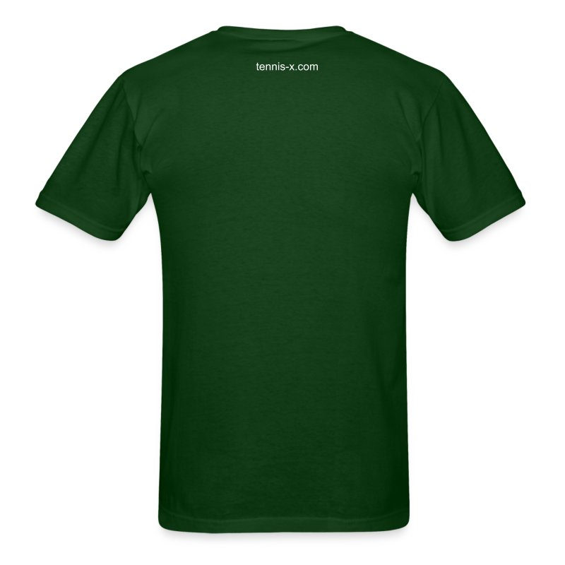 Tennis Biz (green) - Men's T-Shirt