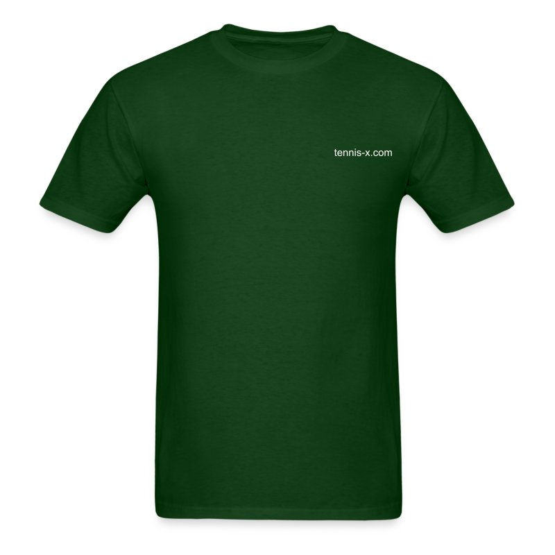 Tennis-X.com (green) - Men's T-Shirt