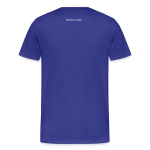 Tennis Biz (blue) - Men's Premium T-Shirt