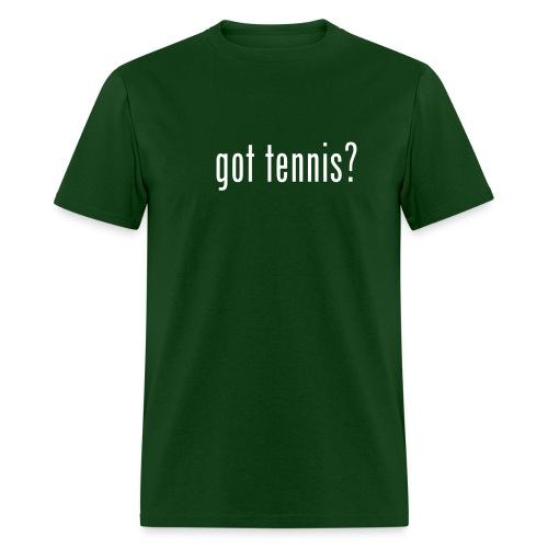 Got Tennis (green) - Men's T-Shirt
