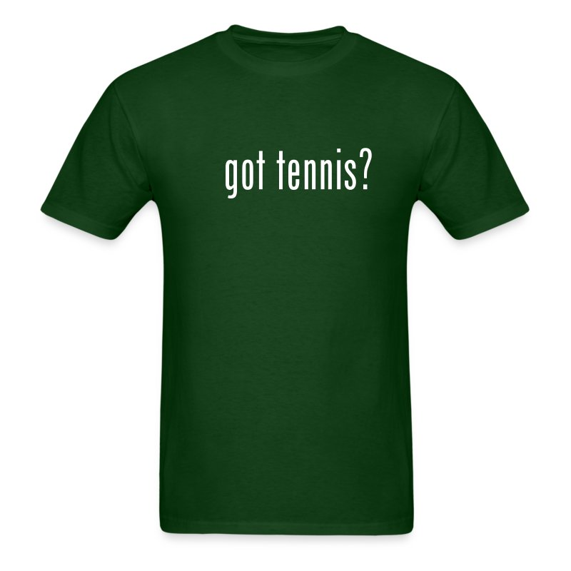 Got Tennis (green) - Men's T-Shirt
